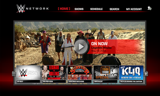 WWE Network screenshot 1