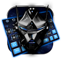 Blue Tech Robot keyboard icon