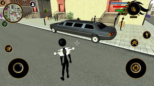 Real Stickman Miami Mafia Crime : Fight To Survive  captures d'écran 2