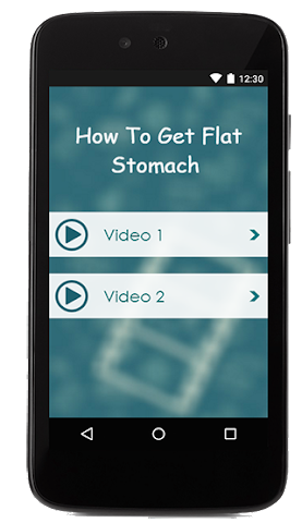 android How To Get Flat Stomach Screenshot 1