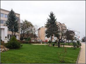 Photo: Turda, Piata 1 Decembrie 1918, spatiu verde - 2018.11.23
