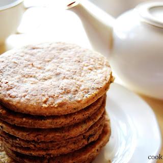 Earl Grey Tea Infused Cookies.