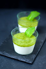 Photo: 14. Pannacotta de lechuga y menta (http://snapshotfood.blogspot.com)