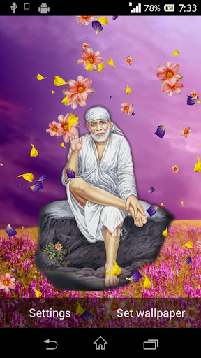 Shirdi Sai Baba Live Wallpaper 6.1.0 screenshots 1