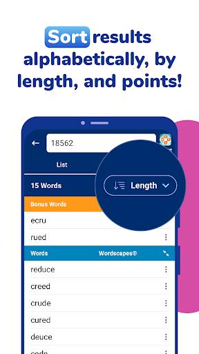 WordFinder: Free Word Games Cheats & Helper filehippodl screenshot 4