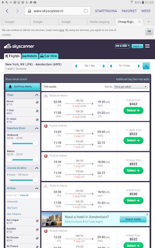 Cheap Flights Calendar 1.1 screenshots 9