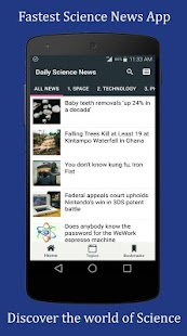 Science News Daily - Fastest Science News App- screenshot thumbnail