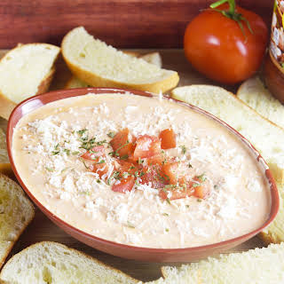 3 Ingredient Creamy Tomato Italian Dip.