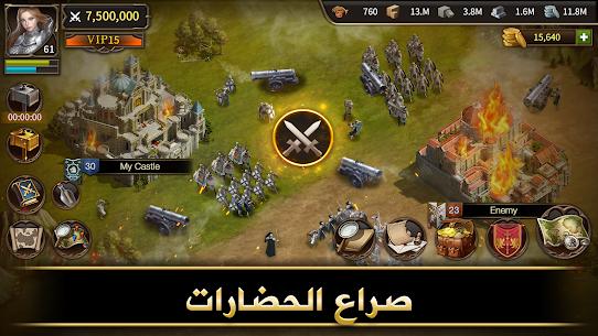 حرب الحضارات – لعبة معارك حرب إستراتيجية 6