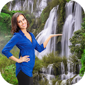 Waterfall Photo Editor & Photo Frames icon