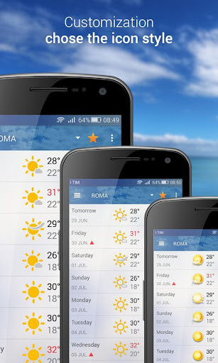 3B Meteo - Weather Forecasts  screenshots 4