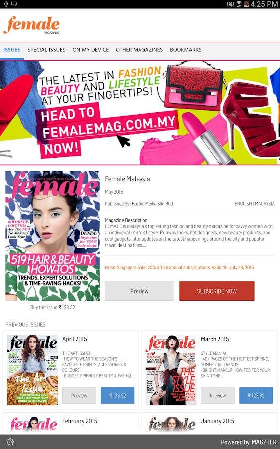 Female Malaysia - screenshot