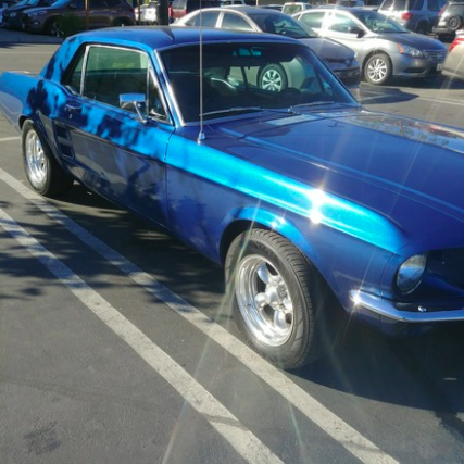 1967 Ford Mustang coupe Hire Escondido