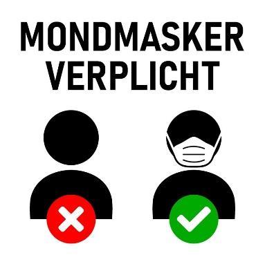 Uitbreiding verplichting mondmaskers - Gemeente Diepenbeek