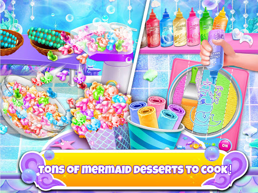Unicorn Chef: Mermaid Cooking Games for Girls 2.1 screenshots 11