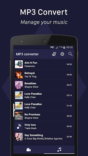 MP3 converter 2.5.9 screenshots 2