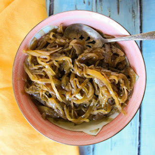 Slow Cooker Caramelized Onions.