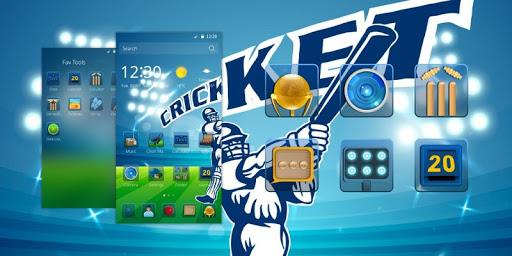 Cricket CM Launcher Theme