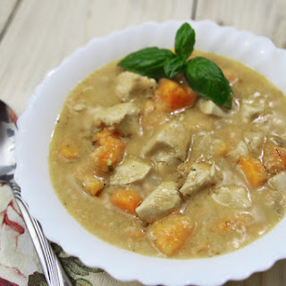 Slow Cooker Cream of Chicken Stew.