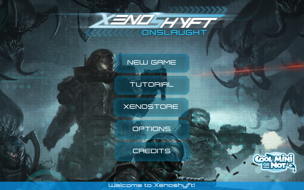 XenoShyft- screenshot
