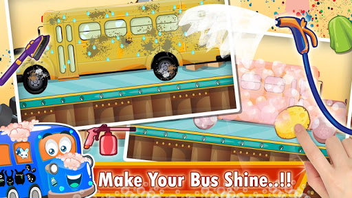 Kids School Bus Spa Simulator 1.0 screenshots 5