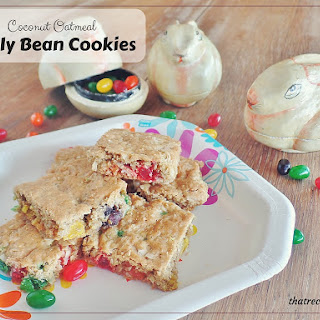Coconut Oatmeal Jelly Bean Cookies – Fill the Cookie Jar