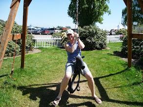 Photo: Aimee on her horse!?!