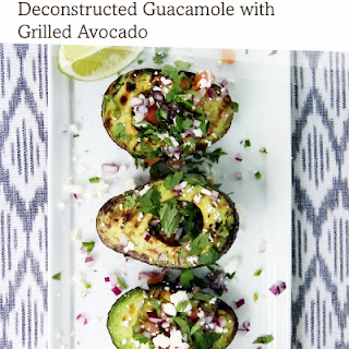 Deconstructed Guacamole with Grilled Avocado