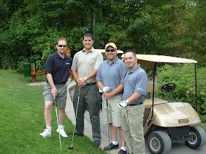 Photo: Norm Voyer, Aaron Dobson, Mike Derouin, Eric Montambeault