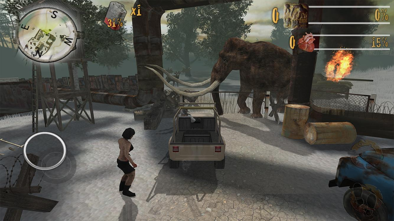 Zombie Fortress : Ice Age- screenshot