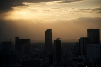 Photo: Sunset over Tokyo