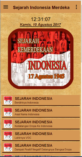 Sejarah Indonesia Merdeka 1.2 screenshots 2