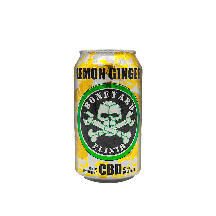 Logo of Boneyard Elixir Lemon Ginger CBD
