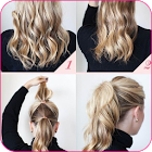 American hairstyle tutorial icon