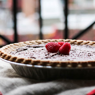 Protein-Packed, Low Sugar, Melt-In-Your-Mouth Chocolate Pie.