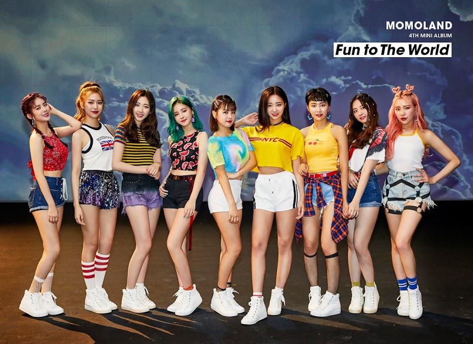 korean music festival 2018 momoland