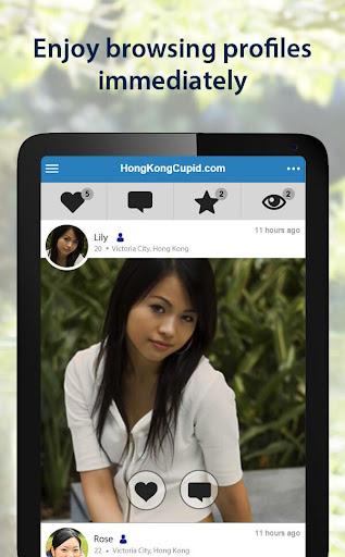 HongKongCupid - Hong Kong Dating App 3.1.7.2496 Screenshots 10