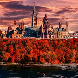 ottawa parlament by Gigi Kent - City,  Street & Park  Historic Districts