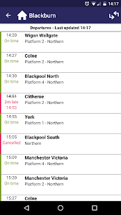 Northern train tickets & times- screenshot thumbnail