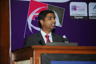 Photo: Binu Thomas, Head- Business Dev.- Production Machine Applications, Siemens Ltd.
