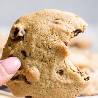 Big Soft Paleo Chocolate Chip Cookies with Tahini {Nut Free}.