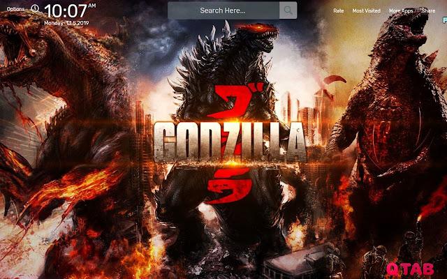 Godzilla Wallpapers HD Theme
