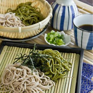 Zaru Soba (Cold Soba Noodles)