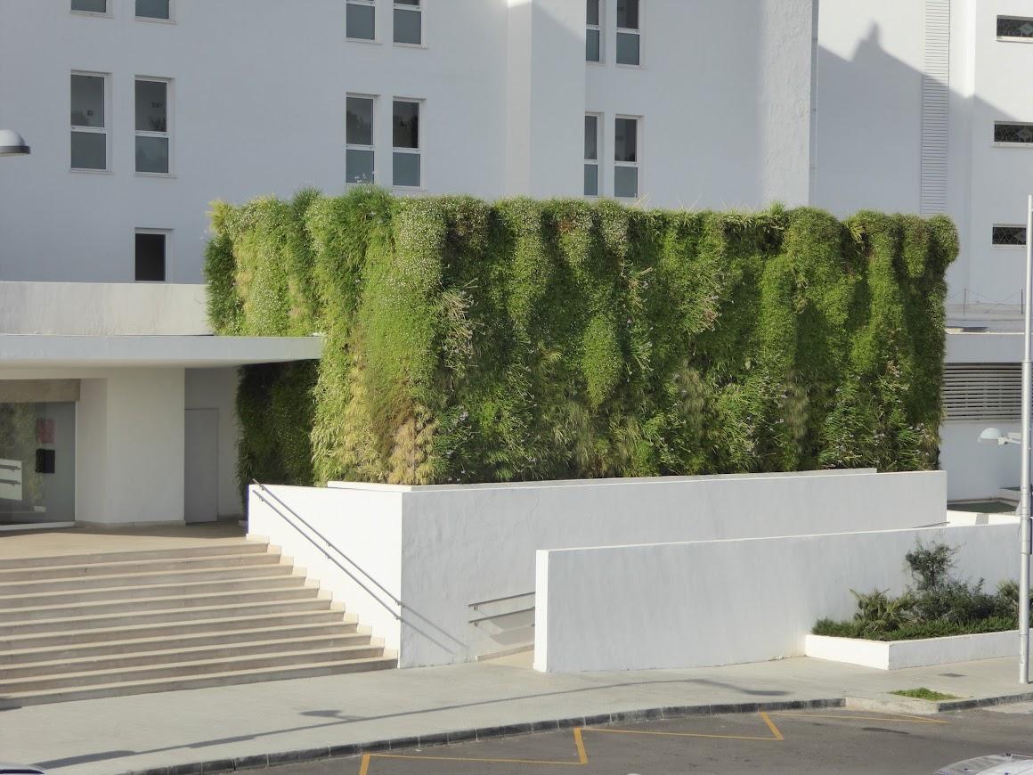 Como hacer un jardín vertical. Paso 1:  elección del sistema.