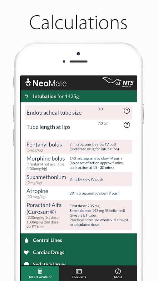 NeoMate - For Neonatal Doctors and Nurses- screenshot
