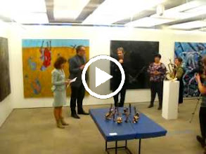 """Video: 16.02.2012 - 09.03.2012 HappyArtMuseum collection """"VA BANK""""@ RIETUMU BANK exhibition hall Vesetas 7 Riga 9.00-17.00   The exchibition under the name """"VA- BANK"""" """"VOUS BANQUE"""" """"BA - BAHK"""" in which modern latvian artists are taking part, has been opened in the art gallery """"Rietumu"""".The artists whoes works are exchibited are united by coorporation with the gallery """"Happy Art Museum"""". The gallery """"Happy Art Museum"""" is established in 2009. Its credo: the development of democratic tradition at the exchibition hall Pinakoteka, where earlier the team of Happy Art Museum frequently organized conceptual socially oriented group exchibitions.Happy Art Museum for several years has been a producer for regular exchibitions, lectures, social activities in its filial branche - """"Gallery Riga"""" in the trading center with the same name, and projects of """" art exchange"""" with the gallerys and museums from nearby countries, taking to Riga many exchibitions and sending exchibitions of latvian artists. In years a group of artists with common views has become the galleries main representative force. Their works harmonize with each other. The heart of the group consists of artists who have finished The Latvian Academy of Arts such as: Gustavs Filipsons, Sergeys Djomins, Vladislav Lakse, Karlis Vitols, L. Milbrets, Otto Zitmanis, Dags Vidulejs, masters of ironycal sculpture Zigmunds Bielis and Ivars Mikelsons, artists working with metal Martins Sprogis, and also pop - art interpretators Ernests Austrins, A. berzins and Juris Dimiters. The phylosophycal goal of the exchibition is to invite the spectator to the dialogue with the artists, speaking of the ideas that have become painful and of which is not """" appropriate"""" to speak openly if one should stick with the right manners.In exposition one can see artistically expressive works each of them containing precisely stated ideas and inividual perception of world.One of the main cryteria when selecting the works was truthfullness, lack of unnec"""