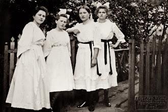 Photo: Paula, Helena, Emilia i Maria - siostry Henryka Mullera.