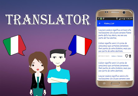 Italian To French Translator - náhled