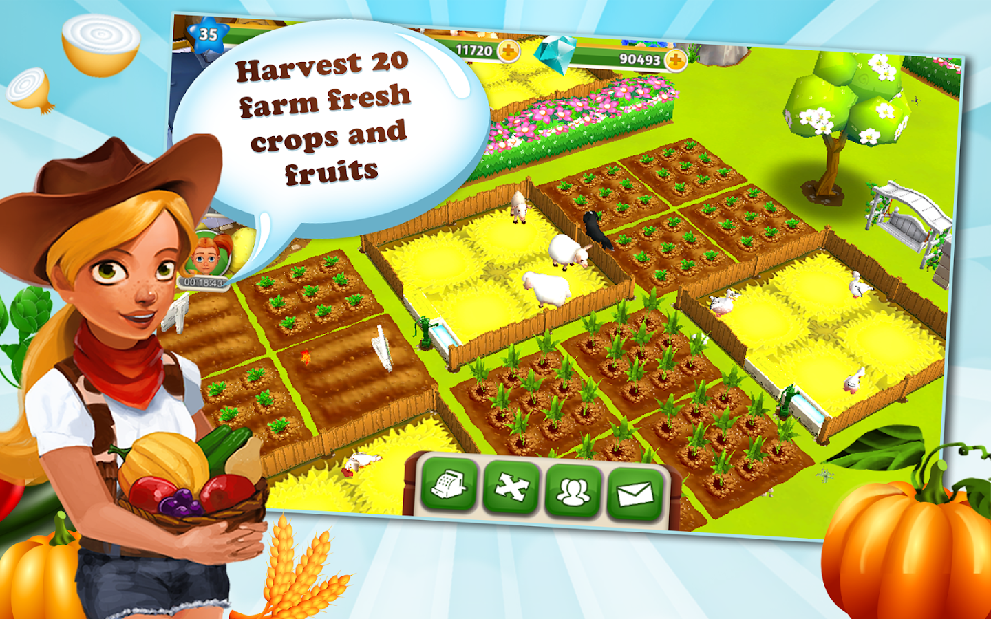 My Free Farm 2- screenshot