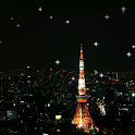 Shining stars live wallpaper icon